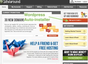Siteground-Wordpress-auto-installer