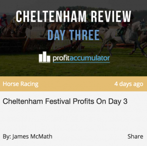 Cheltenham Profits Review Profit Accumulator